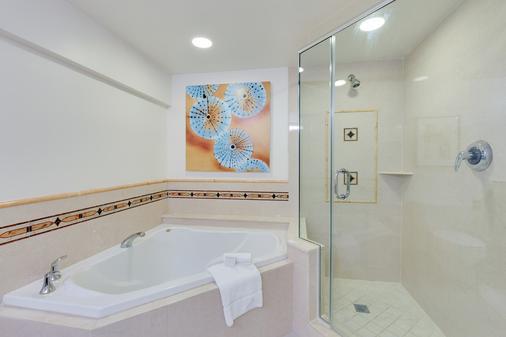 那不勒斯格兰德海滩度假酒店 - 拿坡里 - 浴室