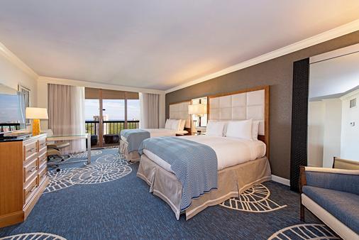 那不勒斯格兰德海滩度假酒店 - 拿坡里 - 睡房