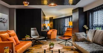 安道尔欧洲之星酒店 - 安道尔城 - 客厅