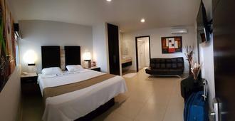 维拉利欧酒店 - 提华纳 - 睡房