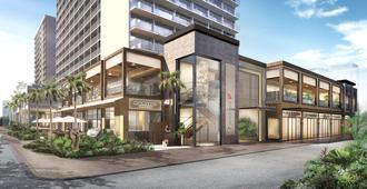 太平洋海滩酒店 - 檀香山 - 建筑