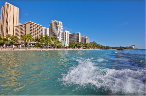 太平洋海滩酒店 - 檀香山 - 海滩