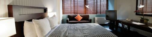 昆西莫杜斯酒店 - 华盛顿 - 睡房