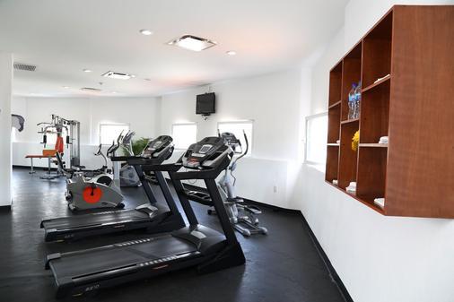 艾赫库蒂沃快捷酒店 - 瓜达拉哈拉 - 健身房