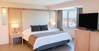 外交酒店 - 门多萨 - 睡房