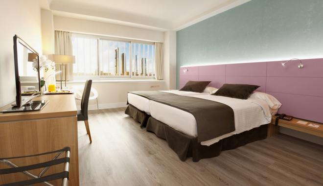 维尔查马丁酒店 - 马德里 - 睡房