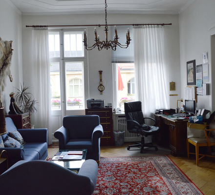 柏林英厄堡旅馆 - 柏林 - 客厅