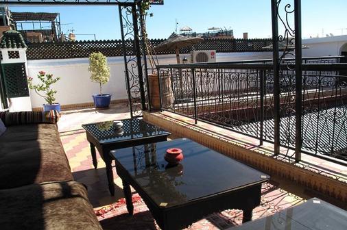 里亚德达尔塔姆里旅馆 - 马拉喀什 - 户外景观