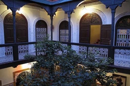 里亚德达尔塔姆酒店 - 马拉喀什 - 阳台