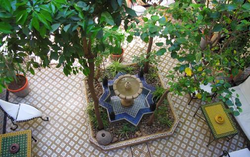 里亚德达尔塔姆里旅馆 - 马拉喀什 - 露台