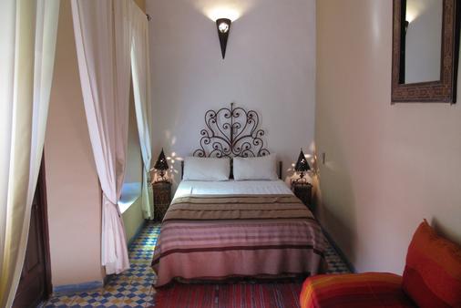 里亚德达尔塔姆里旅馆 - 马拉喀什 - 睡房