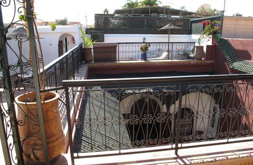 里亚德达尔塔姆里旅馆 - 马拉喀什 - 露天屋顶