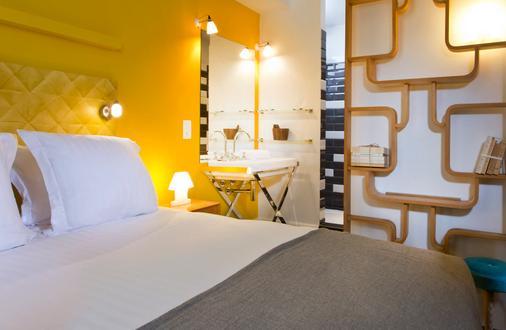 艾塔格沼泽旅馆 - 巴黎 - 睡房
