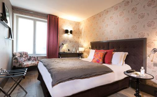 圣日耳曼德普雷别墅酒店 - 巴黎 - 睡房