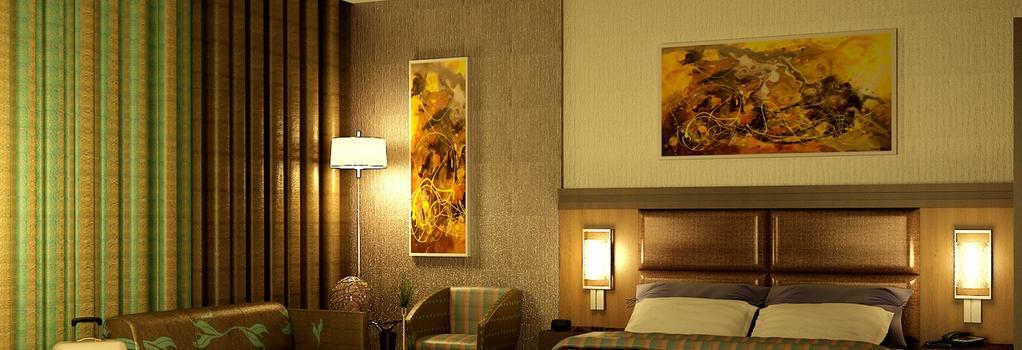 Danat Capital Hotel - 阿布扎比 - 睡房