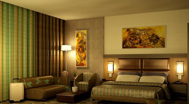 大拿都城酒店 - 阿布扎比 - 睡房