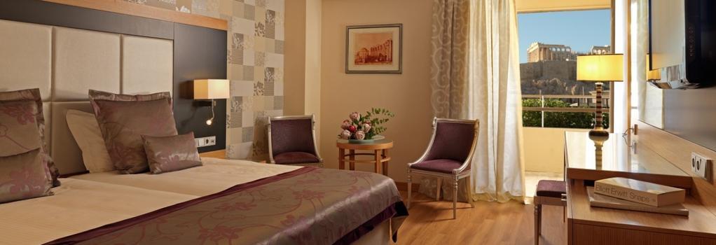 卫城迪瓦尼宫殿酒店 - 雅典 - 睡房