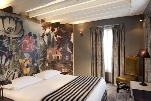 圣米歇尔圣母酒店 - 巴黎 - 睡房