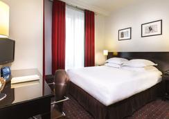 阿尔伯圣米歇尔酒店 - 巴黎 - 睡房