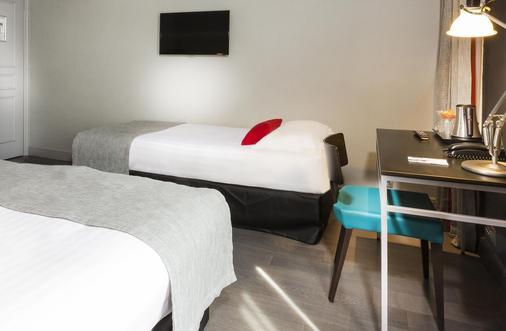 加朗斯酒店 - 巴黎 - 睡房