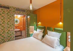 亚勒宫沙精品酒店 - 巴黎 - 睡房