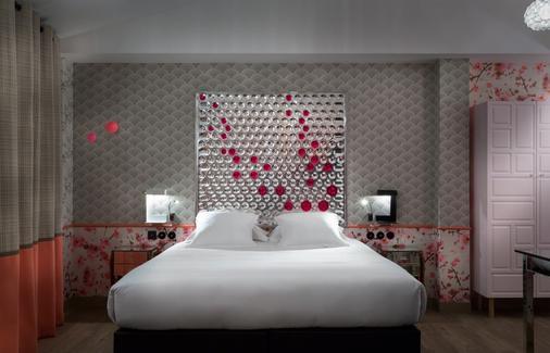 巴黎鲁昂酒店 - 巴黎 - 睡房