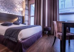 Hotel De Senlis - 巴黎 - 睡房