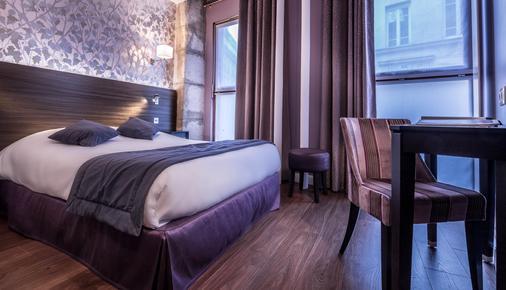 森里斯酒店 - 巴黎 - 睡房