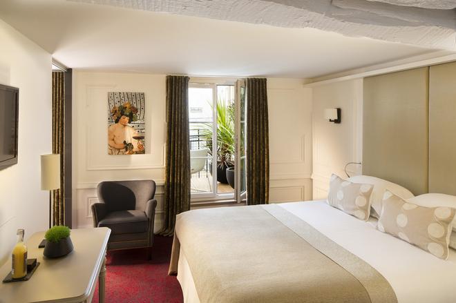 巴黎莫利亚酒店 - 巴黎 - 睡房