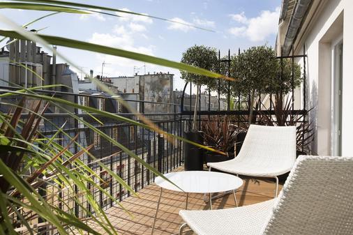 莫利亚酒店 - 巴黎 - 阳台