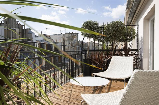 巴黎莫利亚酒店 - 巴黎 - 阳台