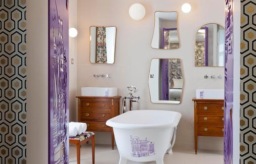 艾丽艮西亚克拉央酒店 - 巴黎 - 浴室