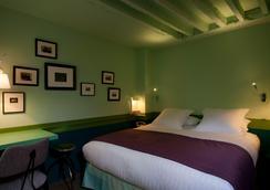 艾丽艮西亚克拉央酒店 - 巴黎 - 睡房