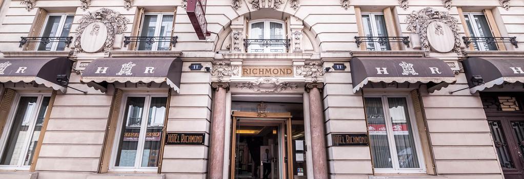 里奇蒙德歌剧院酒店 - 巴黎 - 建筑