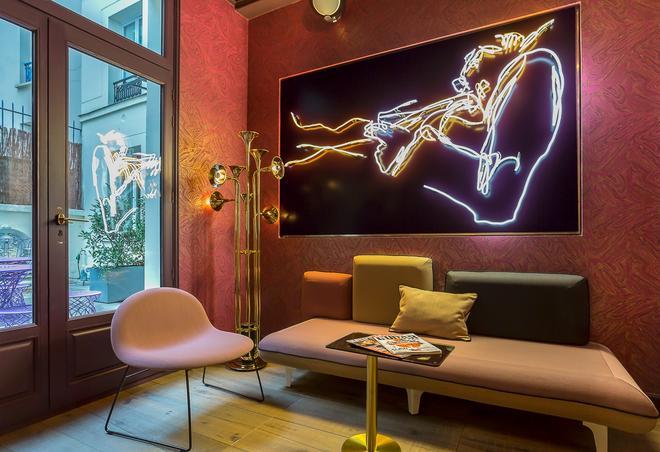 布雷西亚剧院酒店 - 巴黎 - 大厅