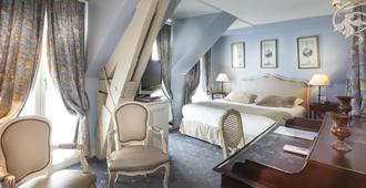 杜克丹鲁酒店 - 巴黎 - 睡房