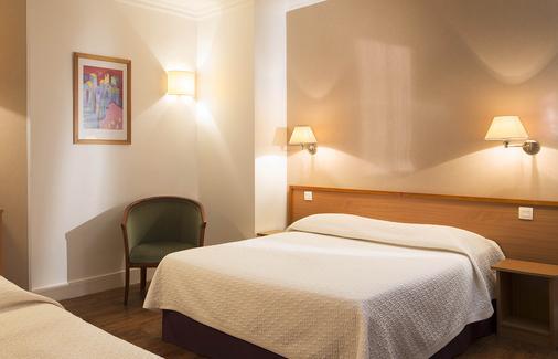 巴黎中央酒店 - 巴黎 - 睡房