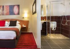 欧洲巴黎埃菲尔酒店 - 巴黎 - 睡房