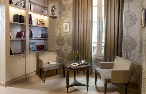 鲍尔肯大酒店 - 巴黎 - 客厅
