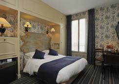 库尔瑟尼酒店 (前乔治桑酒店) - 库尔布瓦 - 睡房