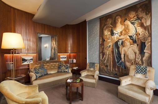 伏尔泰岸酒店 - 巴黎 - 客厅