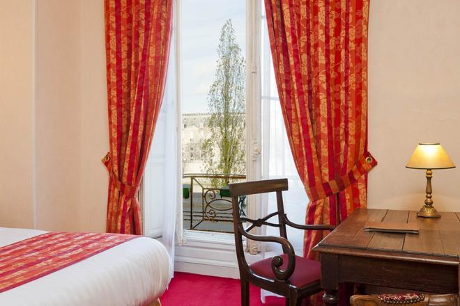 伏尔泰岸酒店 - 巴黎 - 睡房