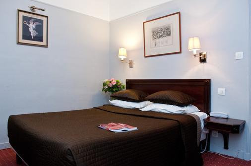 巴黎塔玛丽斯酒店 - 巴黎 - 睡房