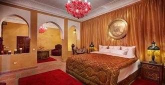 惊叹庭院旅馆 - 马拉喀什 - 睡房