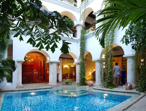 圣佩德罗水疗酒店 - 卡塔赫纳 - 游泳池