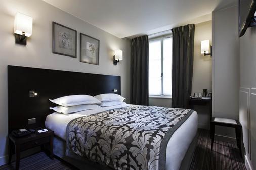 巴黎卢浮宫剧院贝斯特韦斯特酒店 - 巴黎 - 睡房