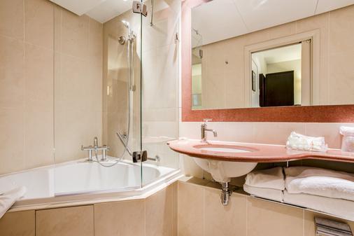 巴黎卢浮宫剧院贝斯特韦斯特酒店 - 巴黎 - 浴室