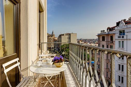 加拉塔古董酒店 - 特殊类别 - 伊斯坦布尔 - 阳台