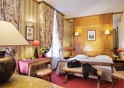 德福乐西酒店 - 巴黎 - 睡房