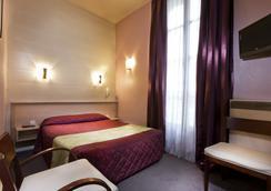弗洛里沃利酒店 - 巴黎 - 睡房